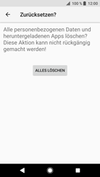 Sony Xperia XZ - Fehlerbehebung - Handy zurücksetzen - 10 / 12