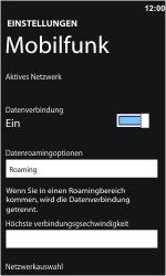 Nokia Lumia 610 - Ausland - Auslandskosten vermeiden - 7 / 8