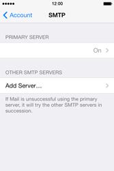 Apple iPhone 4 S iOS 7 - E-mail - Manual configuration - Step 19