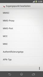Sony Xperia Z1 - MMS - Manuelle Konfiguration - Schritt 12