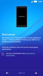 Sony Xperia M4 Aqua - Premiers pas - Créer un compte - Étape 4