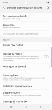Samsung Galaxy Note10 Plus - Appareil - configurer Localiser mon appareil - Étape 5