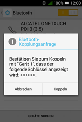 Alcatel Pixi 3 (3.5) - Bluetooth - Geräte koppeln - 0 / 0