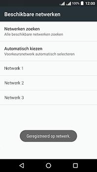 Acer Liquid Zest 4G Plus DualSim - Netwerk - Handmatig een netwerk selecteren - Stap 11