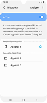 Samsung Galaxy A40 - Bluetooth - connexion Bluetooth - Étape 11