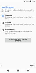 Sony Xperia XZ2 Compact - E-mail - Manual configuration IMAP without SMTP verification - Step 21