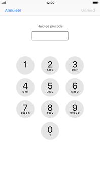 Apple iPhone 6 Plus - iOS 11 - Beveiliging en ouderlijk toezicht - Hoe wijzig ik mijn SIM PIN-code - Stap 6