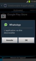 Samsung Galaxy S III Mini - Applications - Comment désinstaller une application - Étape 7