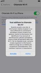 Apple iPhone 8 - iOS 13 - WiFi - Attivare WiFi Calling - Fase 7