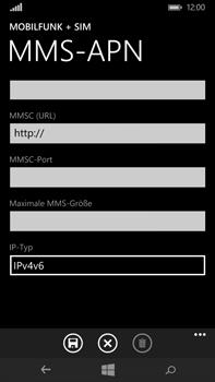 Microsoft Lumia 640 XL - MMS - Manuelle Konfiguration - Schritt 12