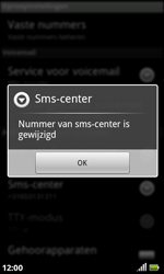 Acer Liquid S100 - SMS - handmatig instellen - Stap 8