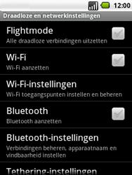 LG P350 Optimus Me - wifi - handmatig instellen - stap 5