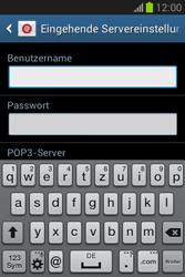 Samsung Galaxy Fame Lite - E-Mail - Manuelle Konfiguration - Schritt 8