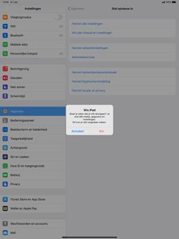 Apple ipad-pro-12-9-ipados-13 - Resetten - Fabrieksinstellingen terugzetten - Stap 7