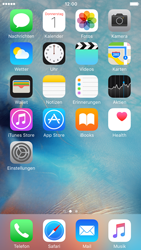 Apple iPhone 6 mit iOS 9 - SMS - Manuelle Konfiguration - Schritt 1