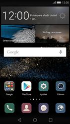 Huawei P8 - Primeros pasos - Activar el equipo - Paso 1