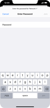 Apple iPhone 11 - iOS 14 - WiFi - WiFi configuration - Step 6