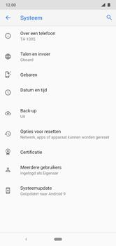 Nokia 7.1 - Android Pie - software - update installeren zonder pc - stap 6