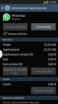 Samsung Galaxy Note III LTE - Applicazioni - Come disinstallare un