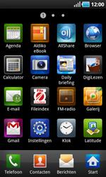 Samsung I9000 Galaxy S - E-mail - Handmatig instellen - Stap 3