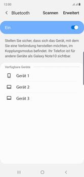 Samsung Galaxy Note 10 - Bluetooth - Verbinden von Geräten - Schritt 7