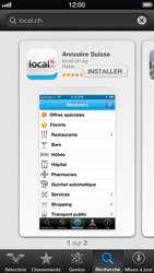 Apple iPhone 5 - Applications - Installation d