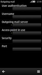 Nokia 808 PureView - E-mail - Configuration manuelle - Étape 14