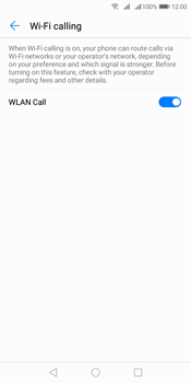 Huawei Y7 (2018) - WiFi - Enable WiFi Calling - Step 9