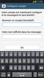 Samsung C105 Galaxy S IV Zoom LTE - E-mail - Configuration manuelle - Étape 16