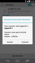 Huawei Ascend P6 - Bluetooth - Jumelage d