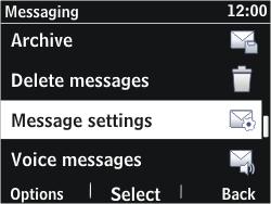Nokia Asha 302 - SMS - Manual configuration - Step 5