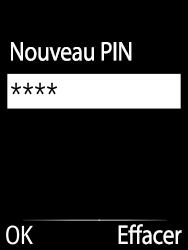 Doro 6620 - Sécuriser votre mobile - Personnaliser le code PIN de votre carte SIM - Étape 10