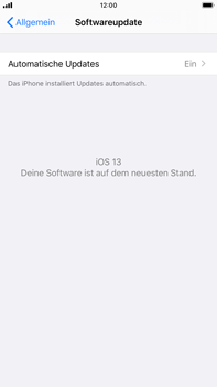 Apple iPhone 6s Plus - iOS 13 - Software - Installieren von Software-Updates - Schritt 6