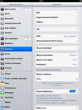 Apple iPad mini - Software - Installazione degli aggiornamenti software - Fase 6