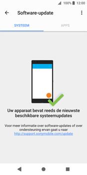 Sony Xperia XZ2 - software - update installeren zonder pc - stap 6