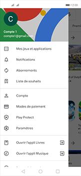 Huawei Nova 5T - Applications - Comment vérifier les mises à jour des applications - Étape 7