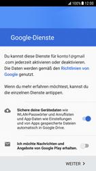 Samsung Galaxy S6 - Android Nougat - Apps - Einrichten des App Stores - Schritt 17