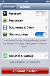 Apple iPhone 4S - Apps - Konfigurieren des Apple iCloud-Dienstes - Schritt 9