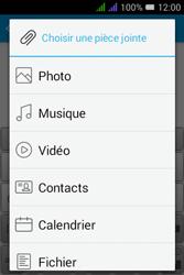Alcatel Pixi 3 Dual Sim - E-mails - Envoyer un e-mail - Étape 12