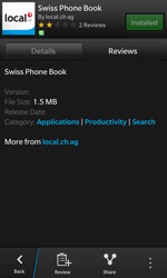 BlackBerry Z10 - Applications - Installing applications - Step 10