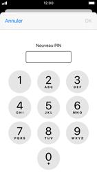 Apple iPhone SE - iOS 13 - Sécurité - modifier SIM PIN - Étape 8