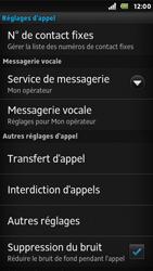Sony ST25i Xperia U - Messagerie vocale - Configuration manuelle - Étape 5