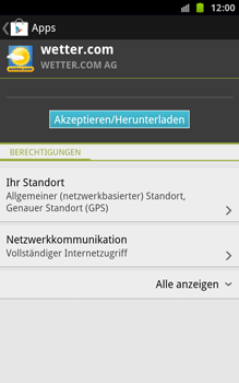 Samsung Galaxy Note - Apps - Herunterladen - 2 / 2