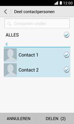 Huawei Ascend Y330 - Contacten en data - Contacten overzetten via Bluetooth - Stap 7