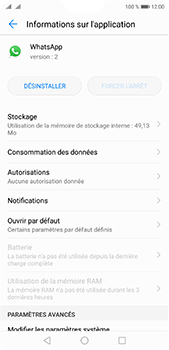 Huawei P20 Pro - Applications - Comment désinstaller une application - Étape 6