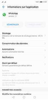 Huawei P20 pro - Applications - Supprimer une application - Étape 6