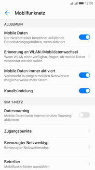 Huawei Mate 9 Pro - Ausland - Auslandskosten vermeiden - Schritt 8