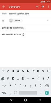 Nokia 7 Plus - E-mail - Sending emails - Step 9