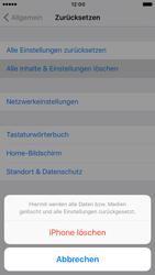 Apple iPhone 6s iOS 10 - Fehlerbehebung - Handy zurücksetzen - Schritt 8