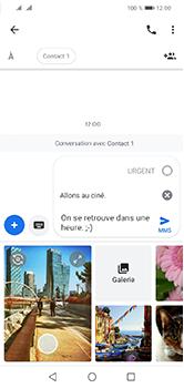 Huawei Y5 (2019) - Contact, Appels, SMS/MMS - Envoyer un MMS - Étape 13